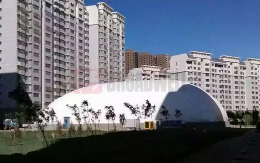 Xinjiang Korla Basketball Dome Location: Xinjiang Korla, China