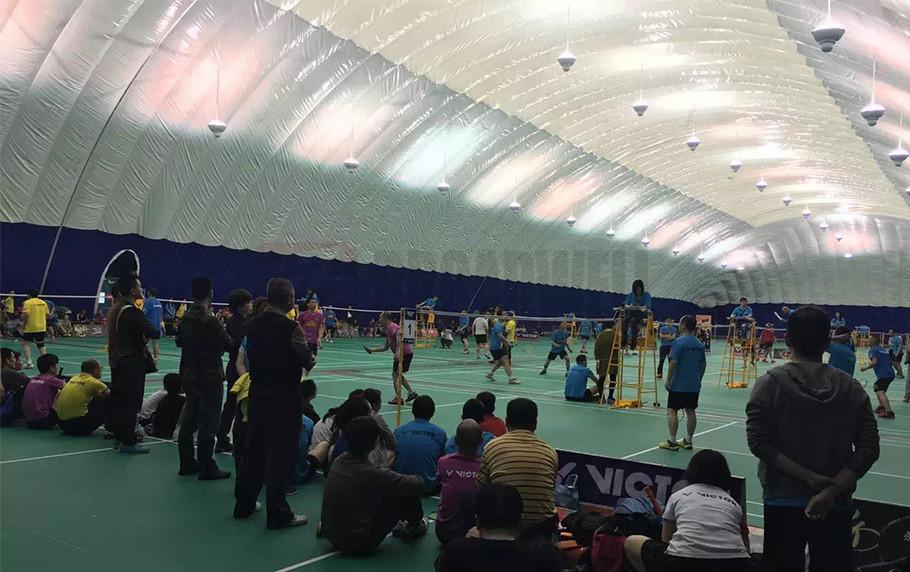 Changsha Shawan Park Badminton Dome  Location: Hunan Changsha Shawan, China