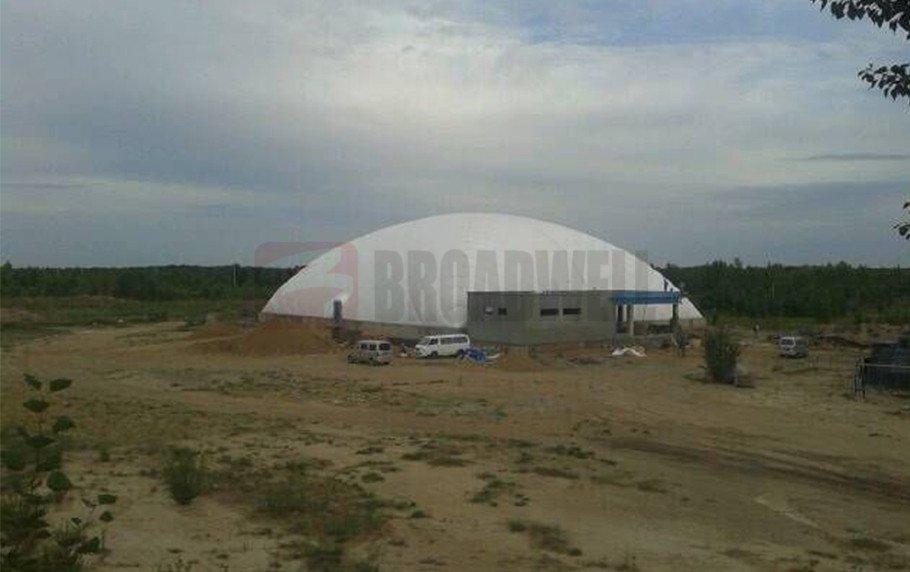 Inner Mongolian Engebei Basketball Dome Location: Engebei, Inner Mongolia