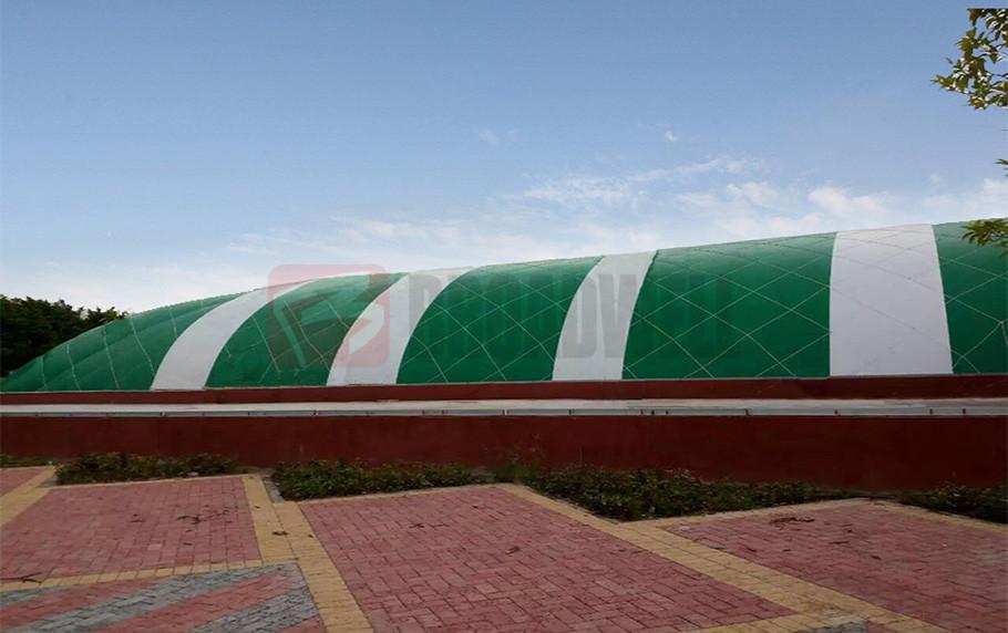 Guangdong Zhaoqing Swimming Dome Location: Guangdong Zhaoqing, China