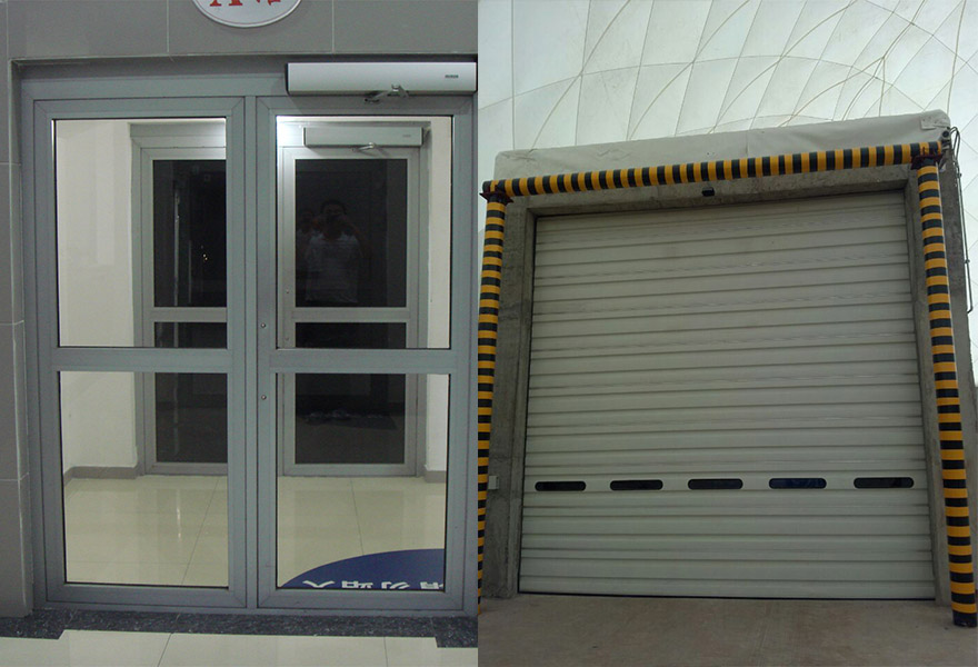 Components of Dome - Doors