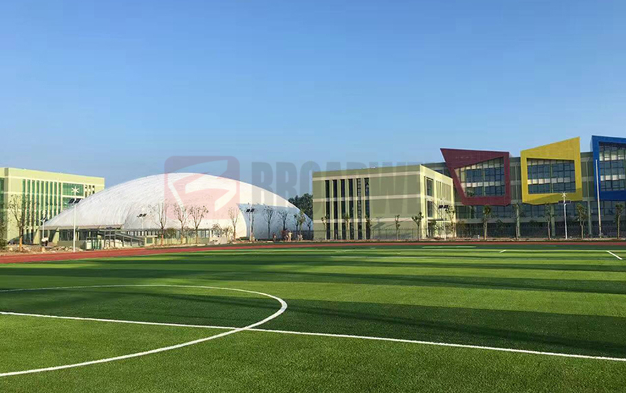 Jiangsu Yancheng Experimental School Sports Dome Location: Jiangsu Yancheng, China