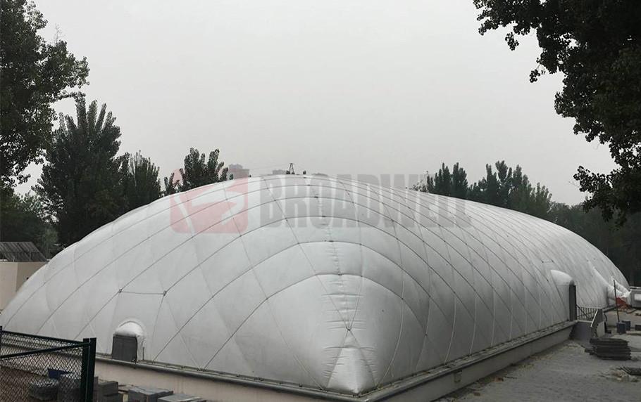 Tianjin Hongqiao Swimming Dome Location: Tianjin Hongqiao District, China