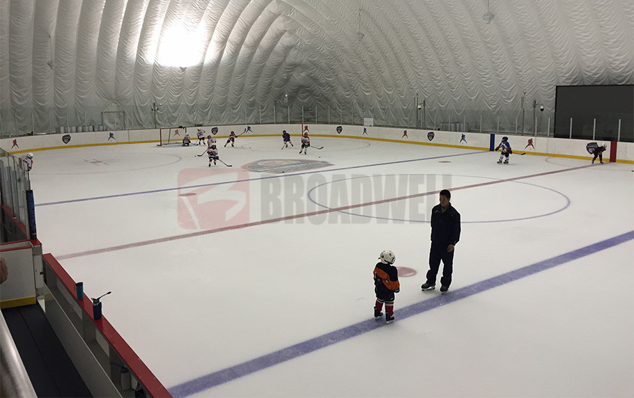 Beijing Tiger Ice Hockey Clue Dome Location: Beijing Xisanqi, China