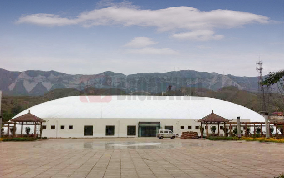 Shanxi Yuncheng Wangjialing Sports Dome Location: Shanxi Yuncheng Wangjialing, China