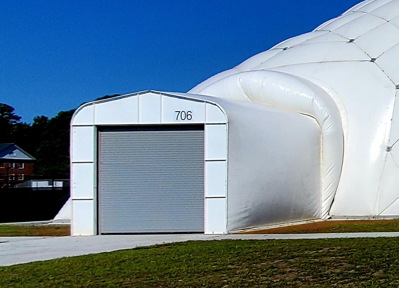 air dome vehicle air lock